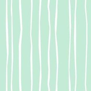 Mint Stripe - Wide
