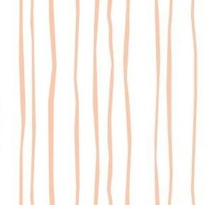 Peach Stripe - Narrow