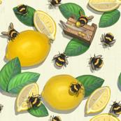 Widdle Bitty Bees//Lemonade Stand// Yellow Cream