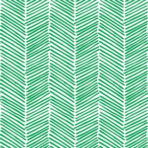 Freeform Arrows Large in kelly green