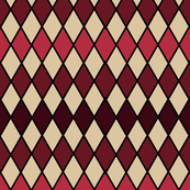 Red Diamond Tablecloth