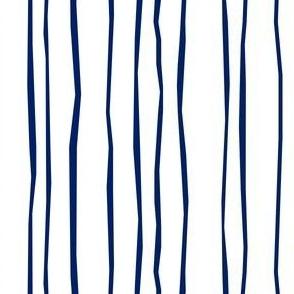 Navy Stripe - Narrow