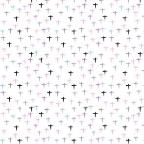 Pastel Prayer-Cross