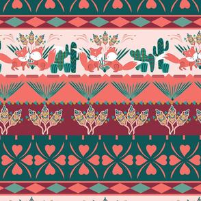 Foxy Boho Succulent Paradise