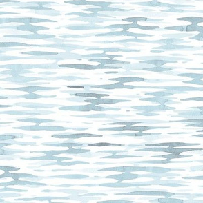 Watercolor Ripples - Cloudy Blue