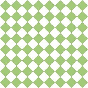 Green square diamonds