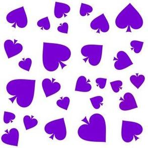 Asexual Pride Purple and White
