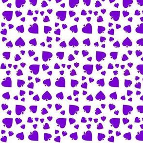 Sm. Asexual Spade Motif Purple