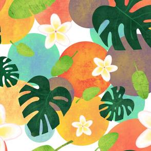 Tropical Frangipani Fun