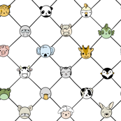 Animal Hall of Fame Grid Large