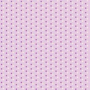 Lavender Sachet Pouch / Polka-dots