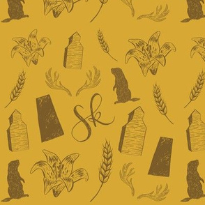 prairies - mustard