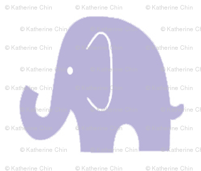 Little Lilac Elephant