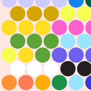 Large Polka Dots Wall Decal