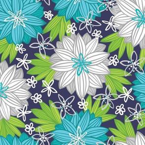 Bohemian Tropics (Blue)