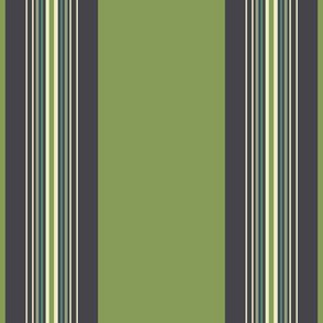 Frog STRIPE GREEN 4x4