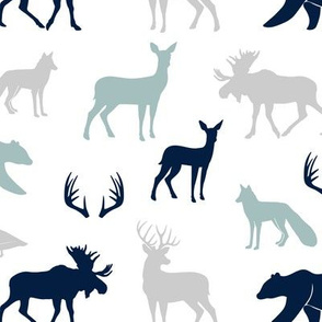 woodland animals C12 - C19BS