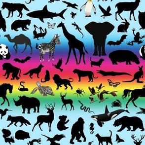 Animal Kingdom - Rainbow, Blue