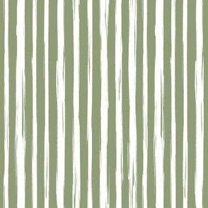 Brushstrokes green