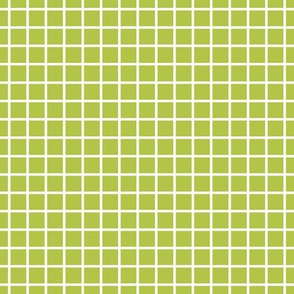 "windowpane 1/2"" lime green reversed"