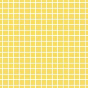 """windowpane 1/2"""" butter yellow reversed"""