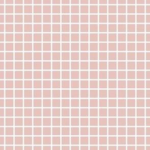 "windowpane 1/2"" dusty pink reversed"