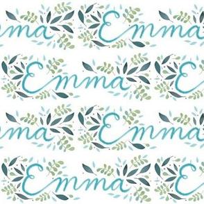 Medium Handlettering Name Emma