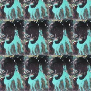The Opal Blue Pony