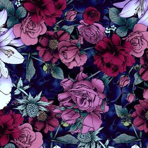 Moody Florals 4