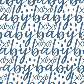 Blue Baby Gift Wrap
