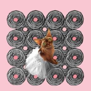 Annie on spirals pink redo