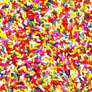 Rainbow Sprinkles  bright