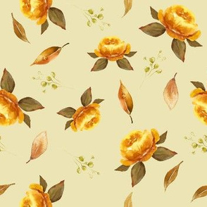 Mustard Floral YELLOW