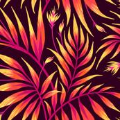 Waikiki Palm - Orange - AM2019