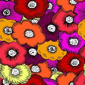 Bunch of Funky Floral.