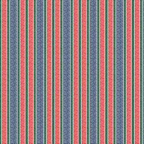 swirly stripes - rwb on g