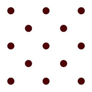 Polka Dotties / Aggie Red