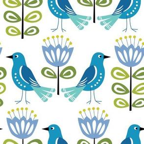 Mid-Century Modern Birds