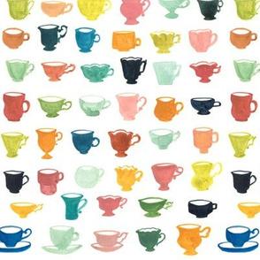 Teacups 1 Pattern