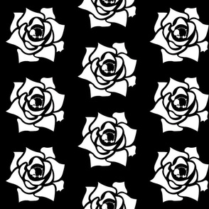 Rose Sheep - Black with white