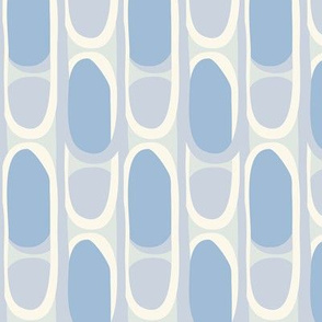 Vintage pattern blue