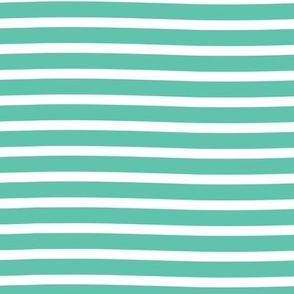 wonky stripe // spearmint