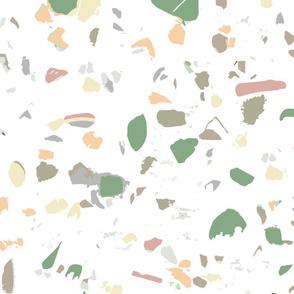 Terrazzo wallpaper natural