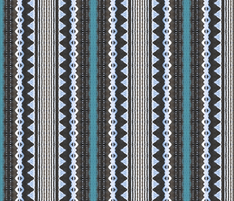 fijian tapa 163 fabric by hypersphere on Spoonflower - custom fabric