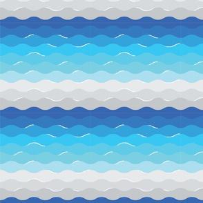 Waves of Fiji Beaches