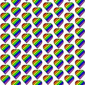 white background rainbow apple