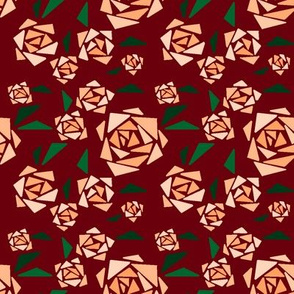 geometric mystery roses (small scale)