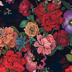 Moody Florals 3