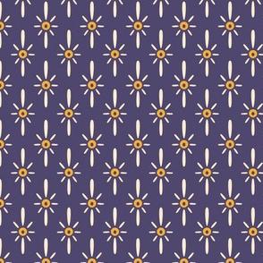 Pysanky Purple Burst