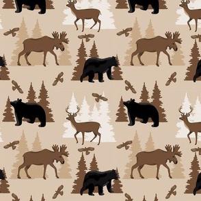 Deer Bear Moose Small